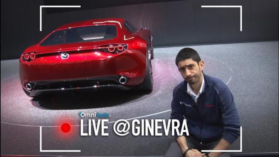Ginevra, il futuro del Wankel nella Mazda RX-Vision [VIDEO]