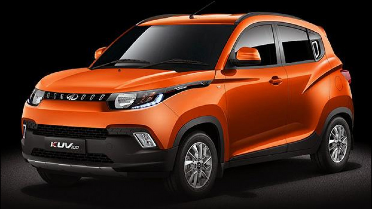 [Copertina] - Mahindra KUV100, il micro SUV per l'India