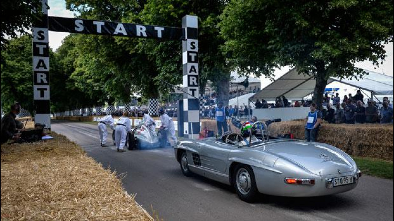 [Copertina] - Mercedes, anche Stirling Moss a Goodwood