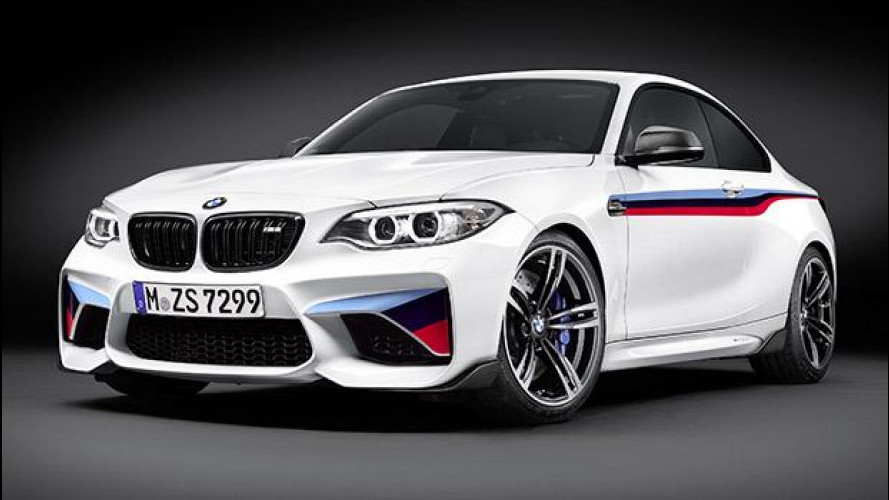 BMW M2 Coupé M Performance, speciale dentro e fuori