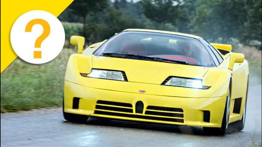Bugatti EB110, il record di velocità più breve della storia