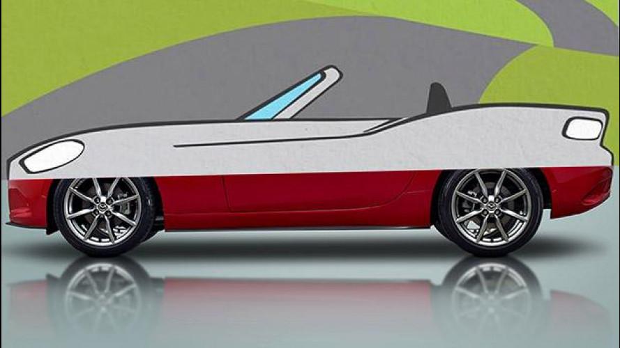 Fiat 124 Spider, ecco i primi disegni
