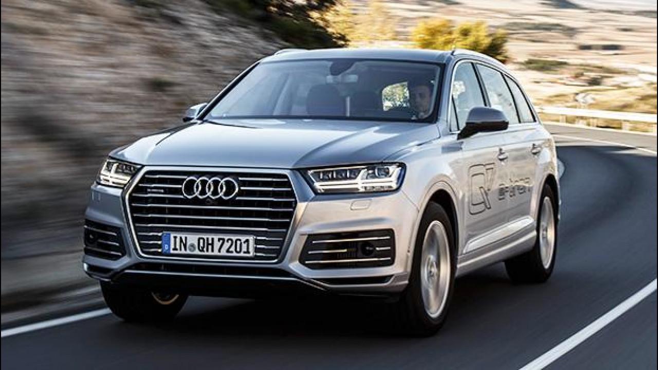 [Copertina] - Audi Q7 e-tron 3.0 TDI quattro, nuove frontiere del comfort