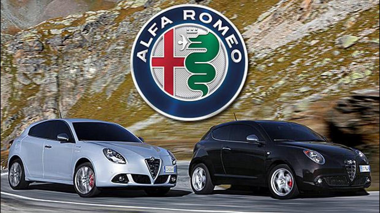 [Copertina] - Alfa Romeo, nuovo logo su MiTo e Giulietta