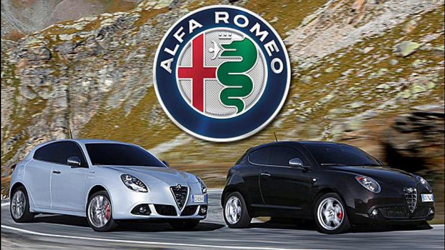 Alfa Romeo, nuovo logo su MiTo e Giulietta