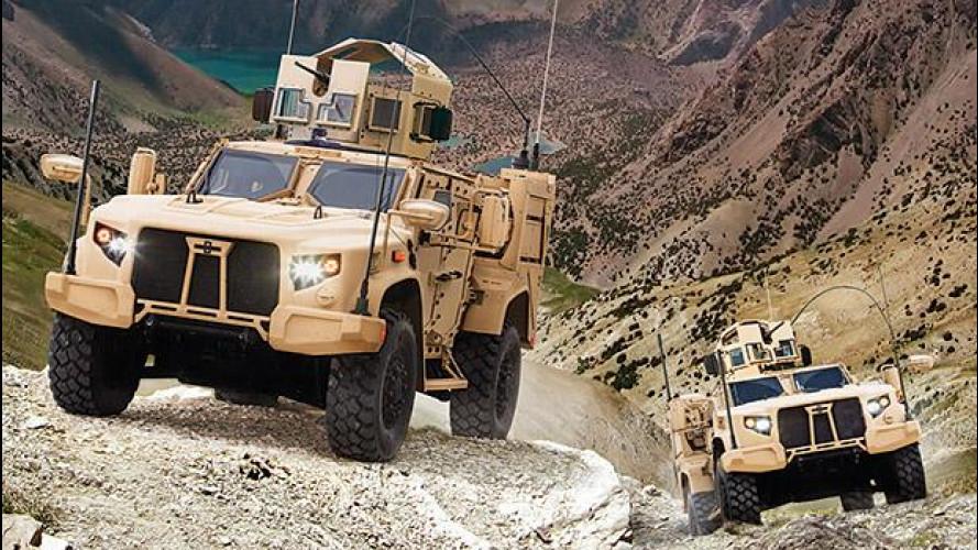 Oshkosh L-ATV, ecco il nuovo Humvee