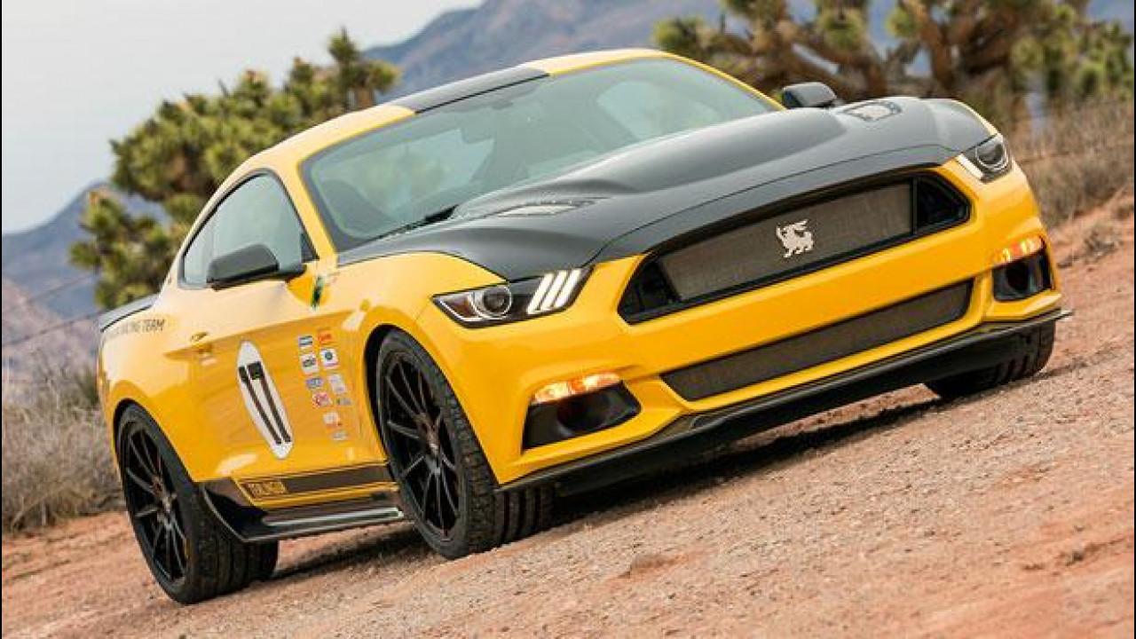 [Copertina] - Ford Mustang Shelby Terlingua, gialla e con il pedigree