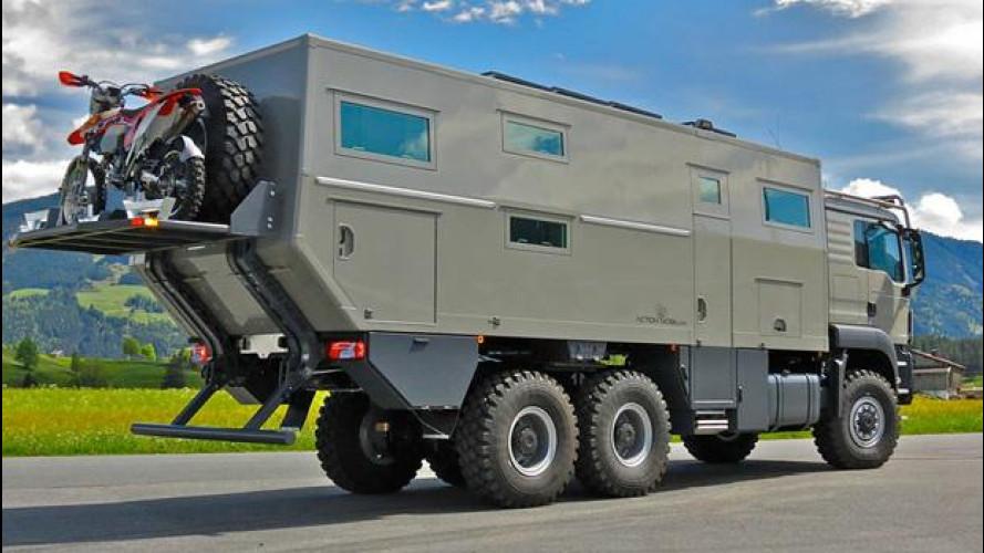Globecruiser 7500, il camper da 800.000 euro