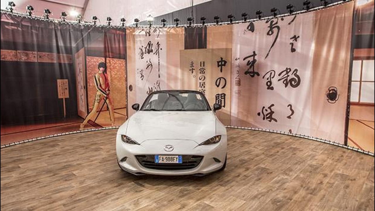[Copertina] - Mazda MX-5, con Kill Bill alla Festa del Cinema di Roma