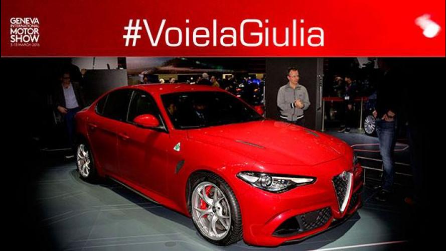 #VoielaGiulia 3: parliamo dell'Alfa Romeo Giulia Quadrifoglio