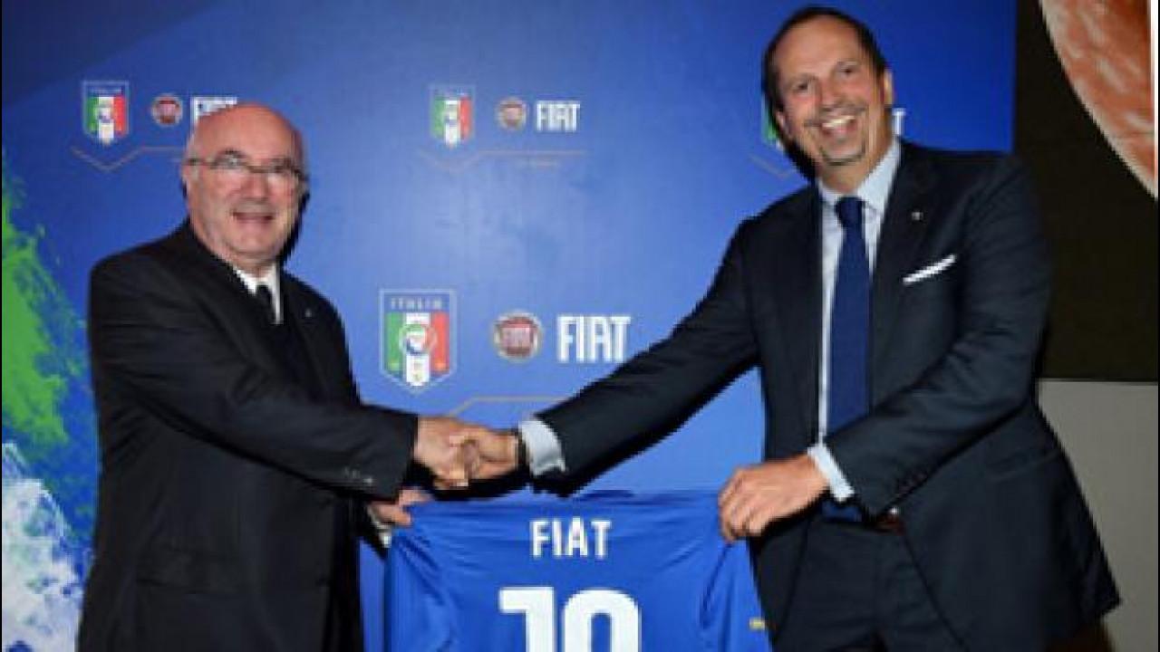 """[Copertina] - Fiat si conferma """"l'auto"""" della Nazionale italiana"""