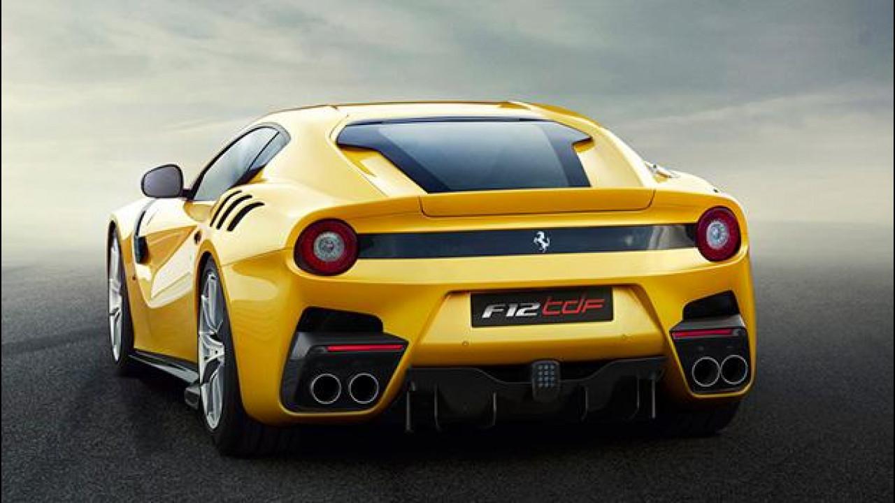 [Copertina] - Ferrari F12tdf, il suo segreto è il Passo Corto Virtuale