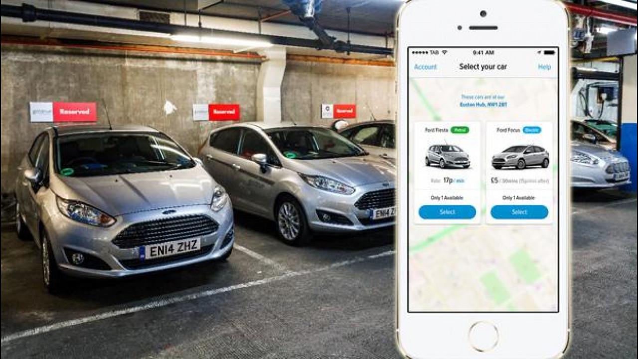 [Copertina] - Car sharing, a Londra Ford lancia GoDrive