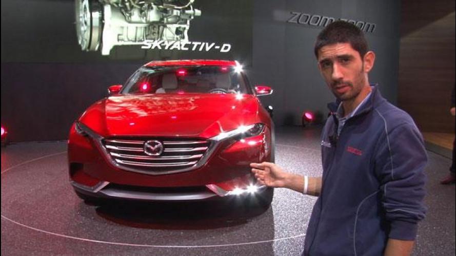 Salone di Francoforte: ecco la Mazda Koeru Concept [VIDEO]