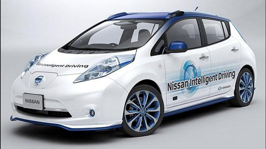 Nissan, al via i test di guida autonoma su strada