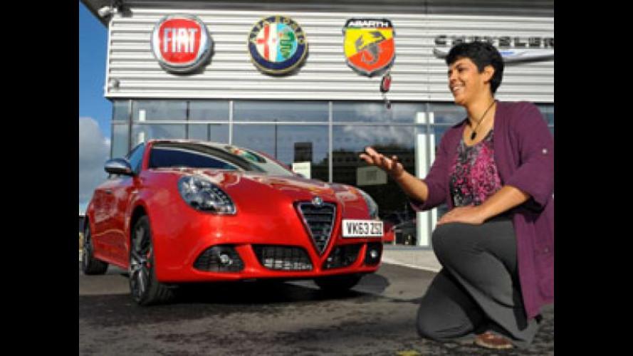 Alfa Romeo Giulietta Fast & Furious 6, consegnato il primo esemplare
