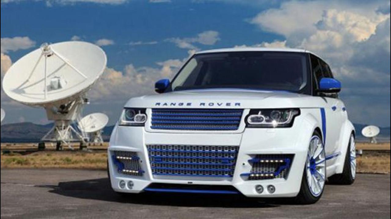 [Copertina] - Range Rover Vogue CLR-R by Lumma Design