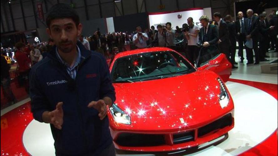 Ferrari 488 GTB, star annunciata al Salone di Ginevra