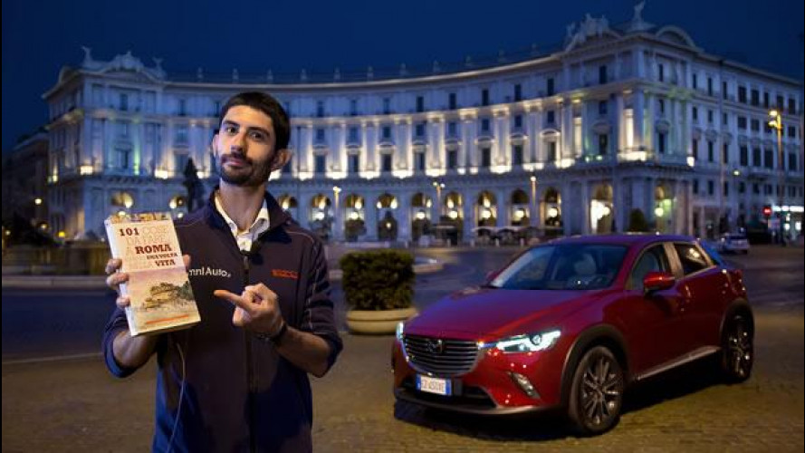 """Mazda CX-3, l'abbiamo provata a Roma """"in una notte"""" [VIDEO]"""