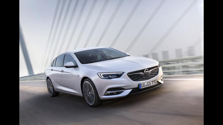 Nuova Opel Insignia Grand Sport, professione ammiraglia