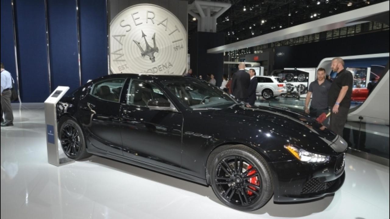 [Copertina] - Maserati Ghibli, look Nerissimo per il Salone di New York