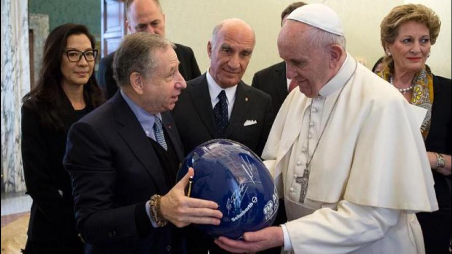 Papa Francesco sempre più attento alla sicurezza stradale