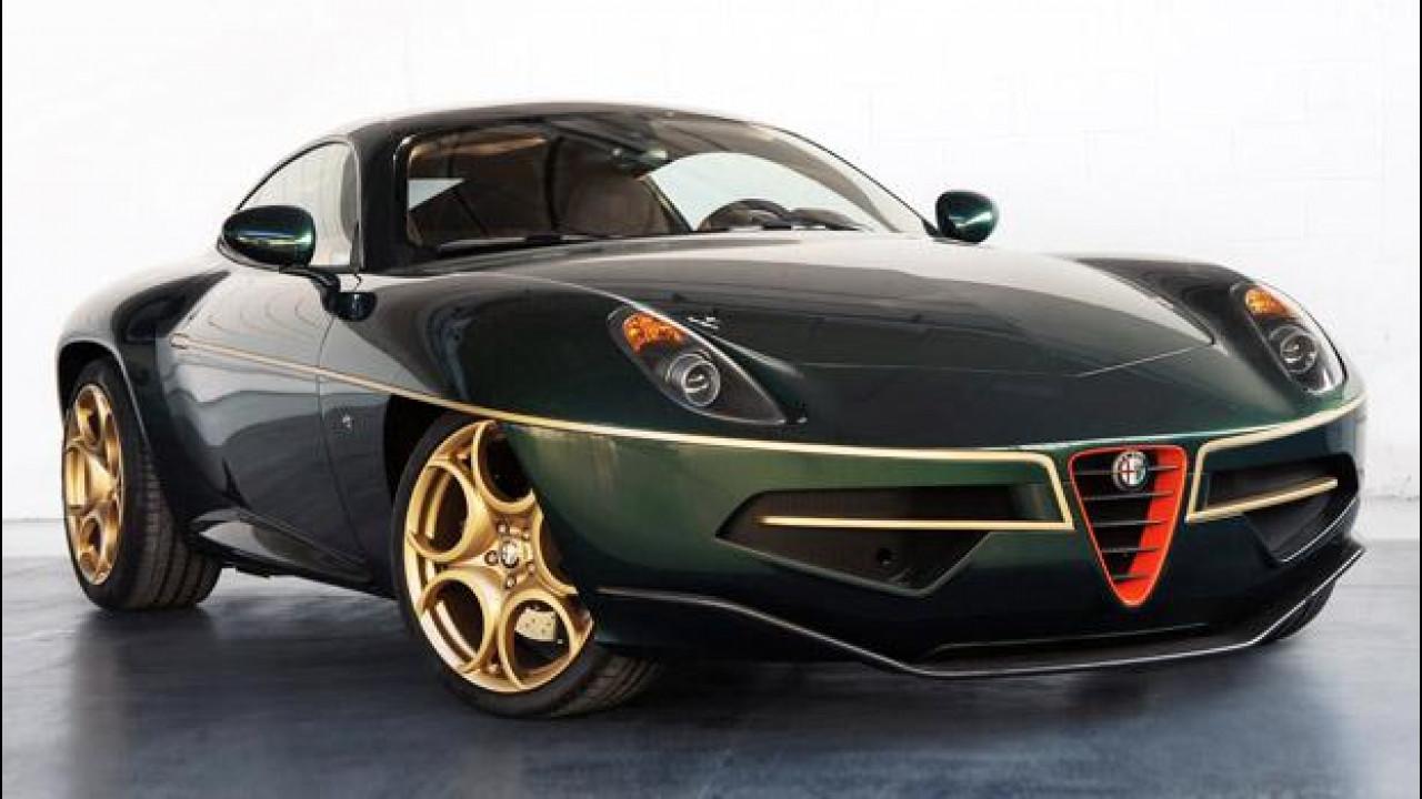 [Copertina] - Touring Superleggera Disco Volante, in verde e oro