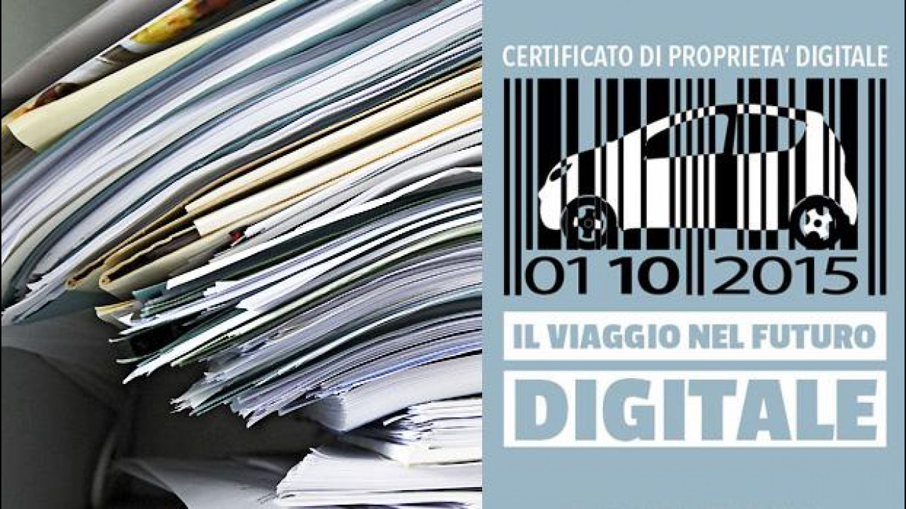 [Copertina] - Certificato di Proprietà digitale, l'ACI attacca