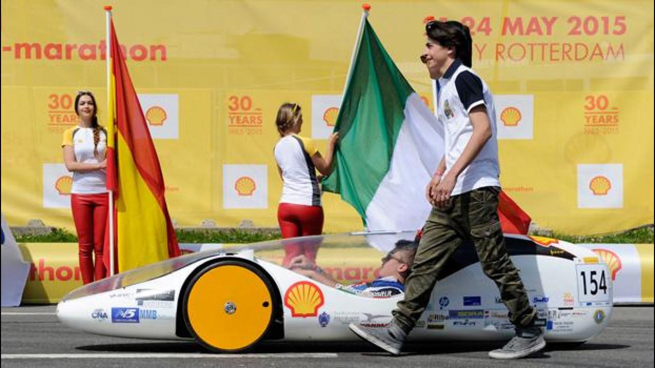 [Copertina] - Shell Eco-marathon 2015, l'Italia è salita sul podio