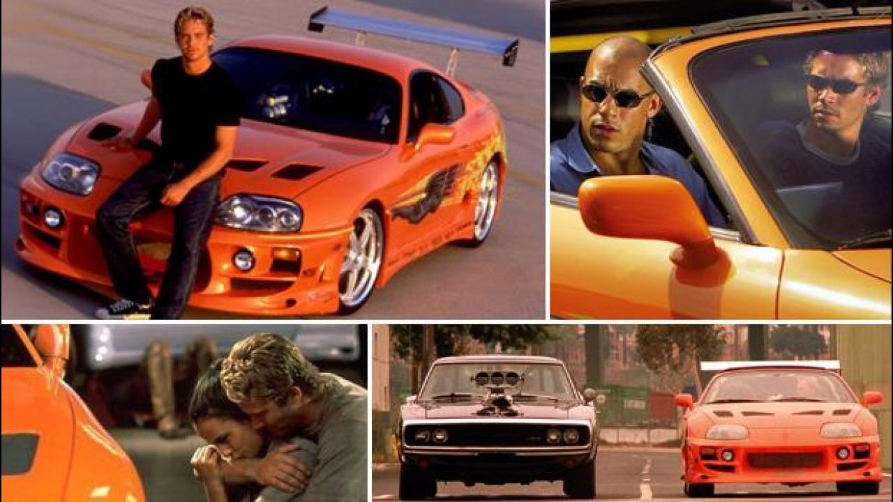 [Copertina] - Fast and Furious, all'asta la Toyota Supra di Paul Walker [VIDEO]
