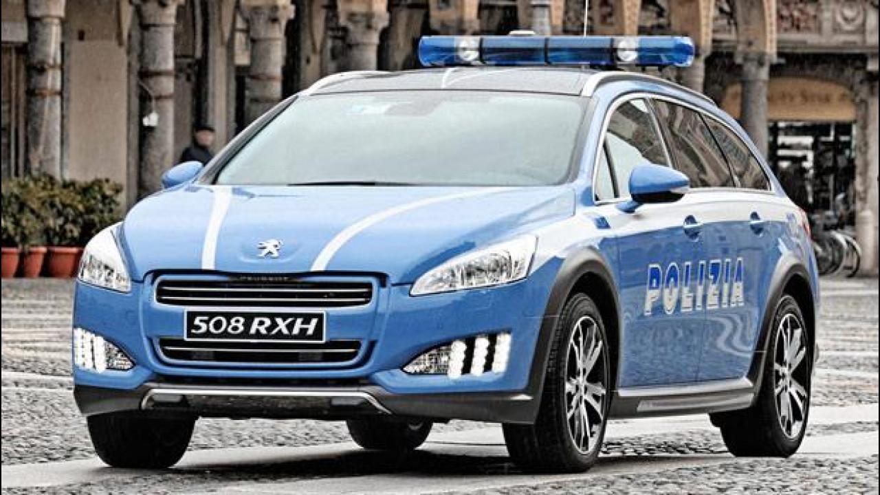 [Copertina] - Peugeot 508 RXH entra nella Polizia Stradale
