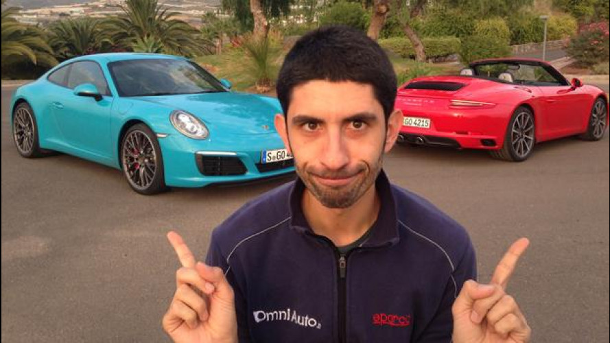 """Nuova Porsche 911: l'han fatta turbo, senza """"rovinarla"""""""