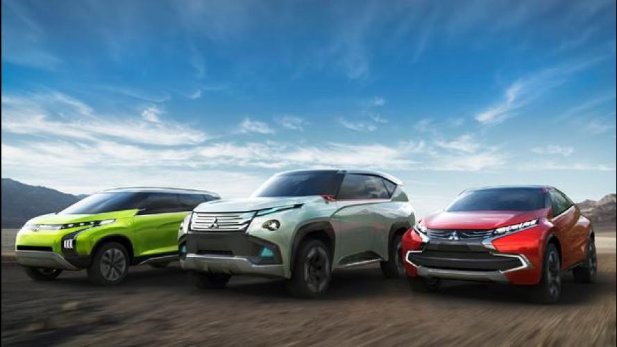 Mitsubishi, tre concept per Tokyo