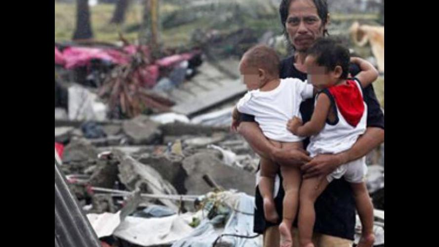 Filippine, Toyota dona 10 milioni di peso