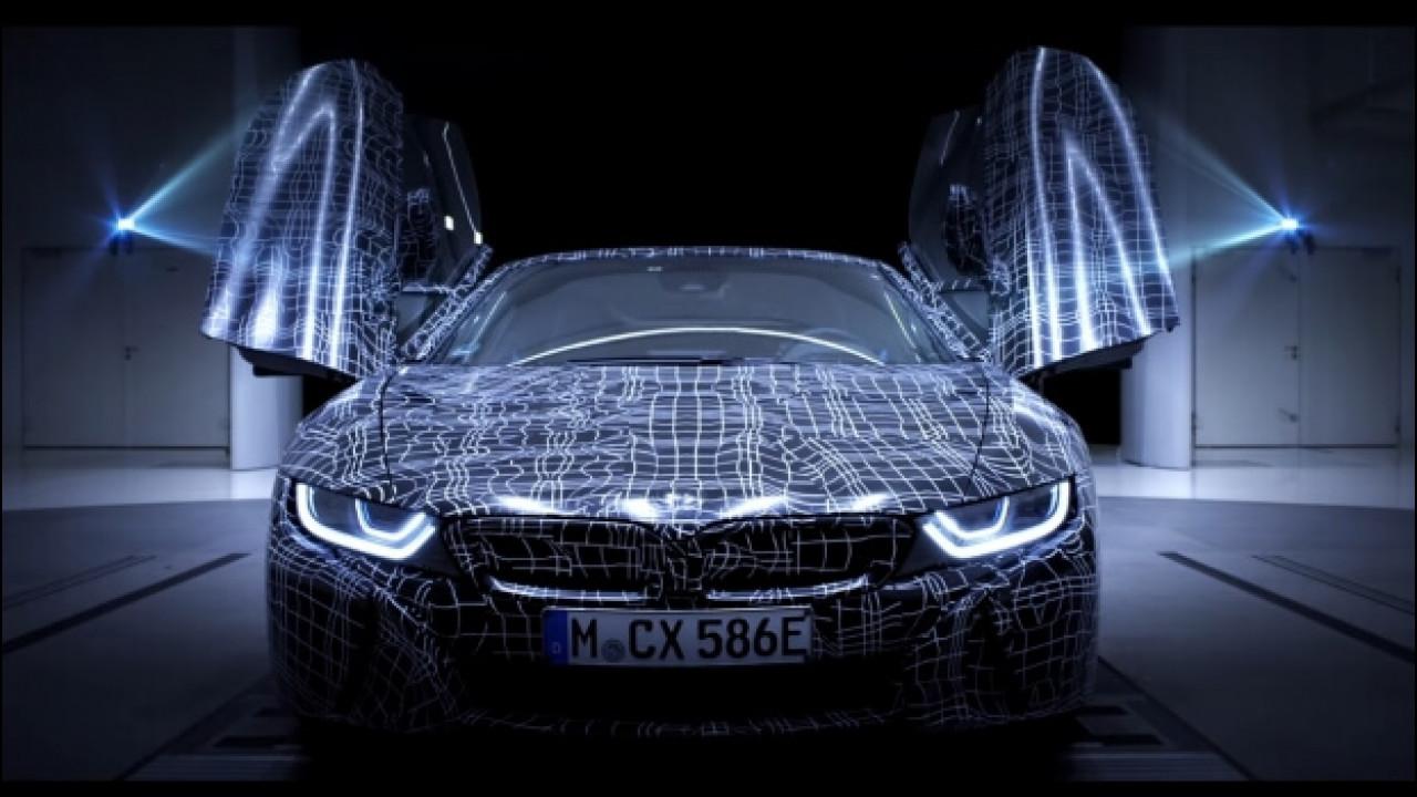 [Copertina] - BMW i8 Roadster, eccola in video