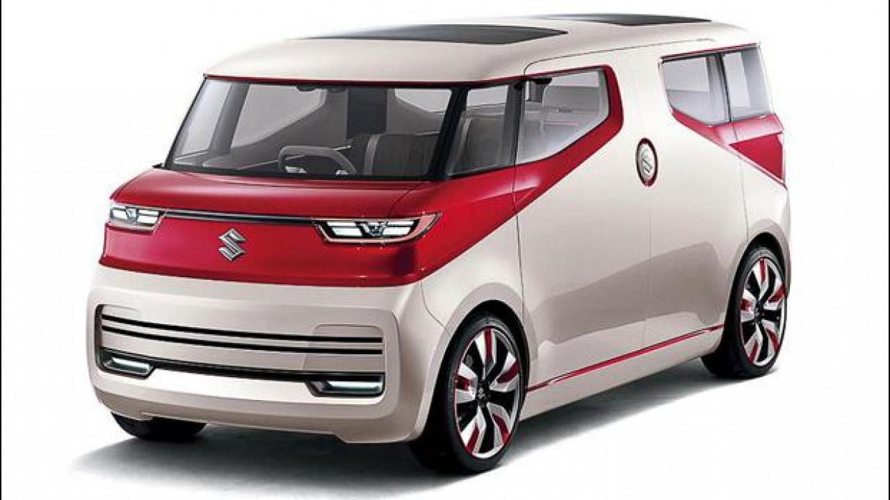 [Copertina] - Suzuki Air Triser, il minivan concept che diventa salotto