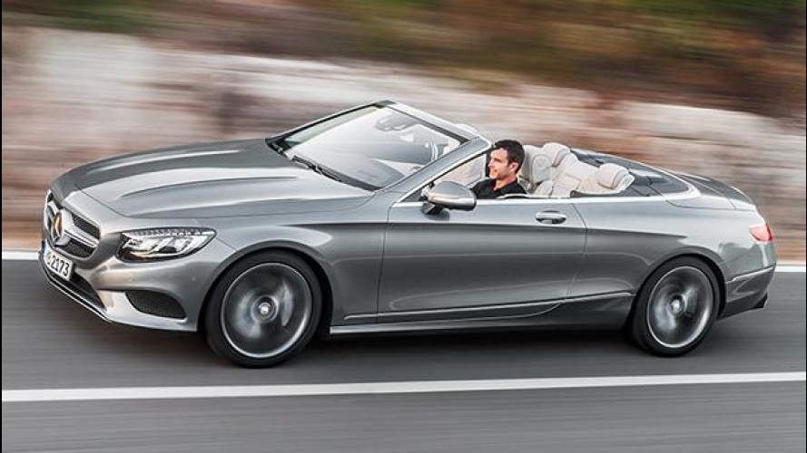 Mercedes S 500 Cabrio, un salotto volante en plein air