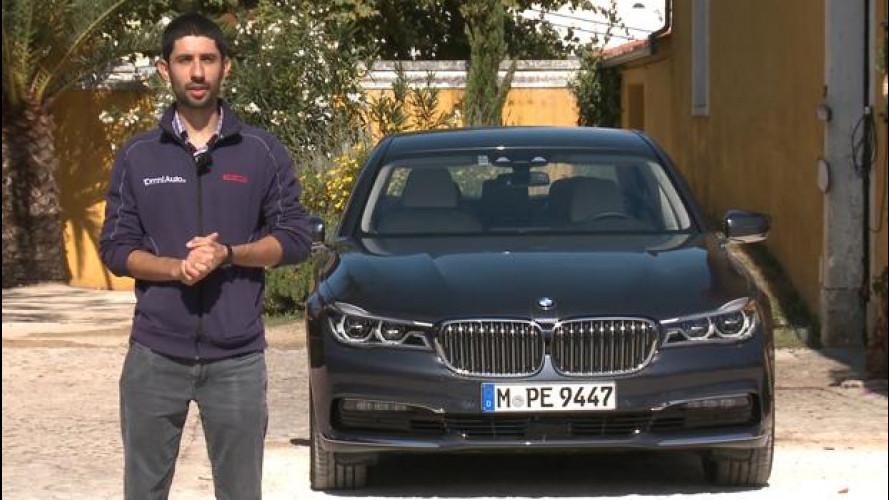 BMW Serie 7: lusso di oggi, tecnologia di domani [VIDEO]