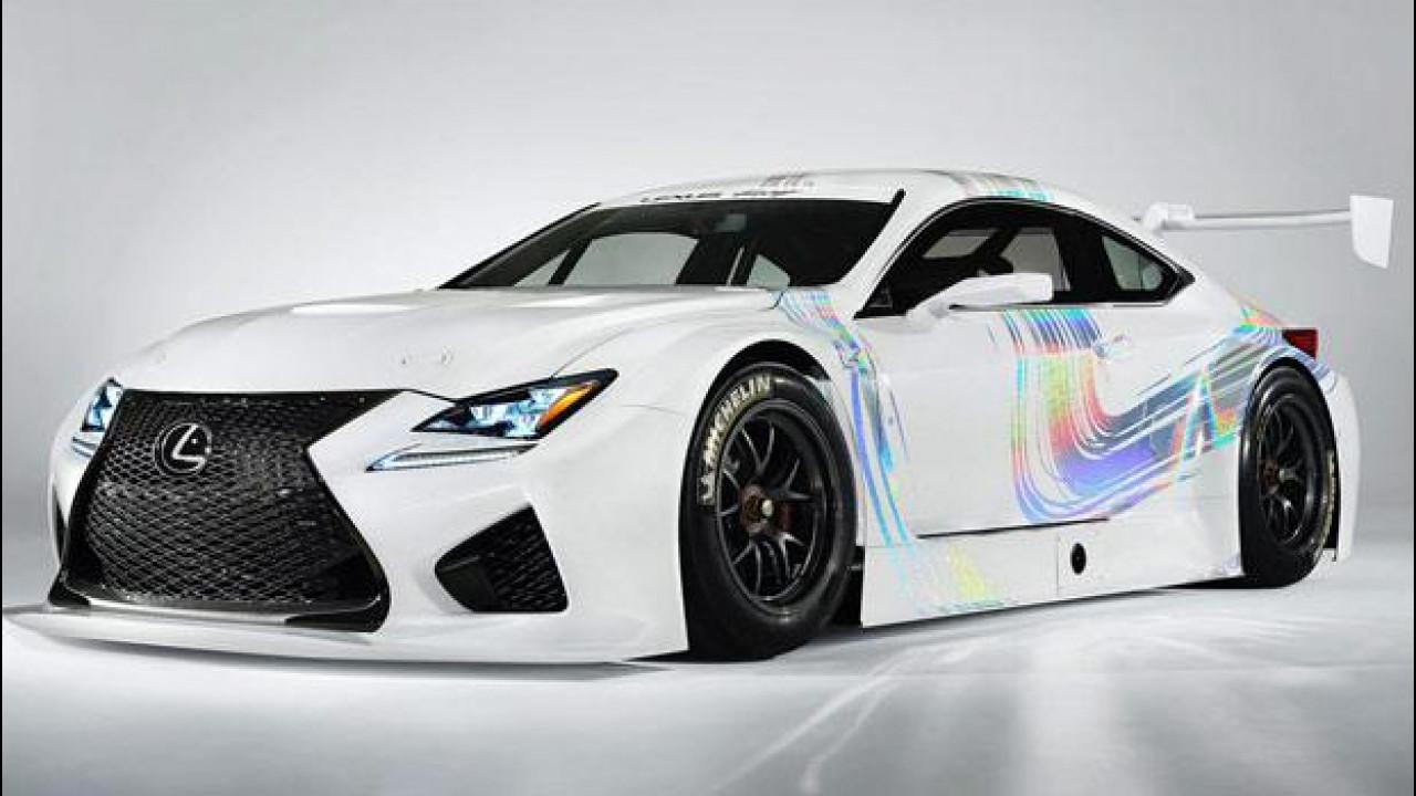 [Copertina] - Lexus RC F GT3 Concept, quella da corsa