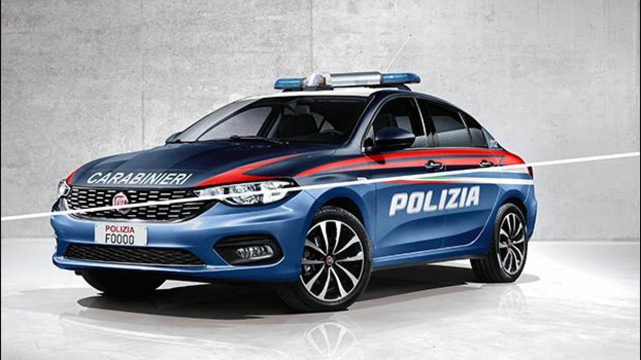 [Copertina] - Con la nuova Tipo, Fiat tornerà in Polizia e Carabinieri?