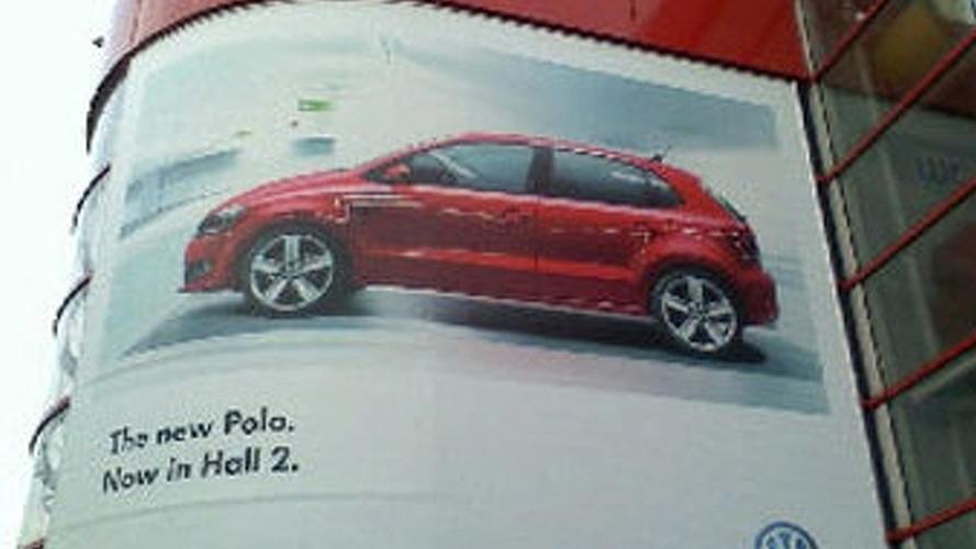New VW Polo Revealed on Geneva Billboard Advertisement