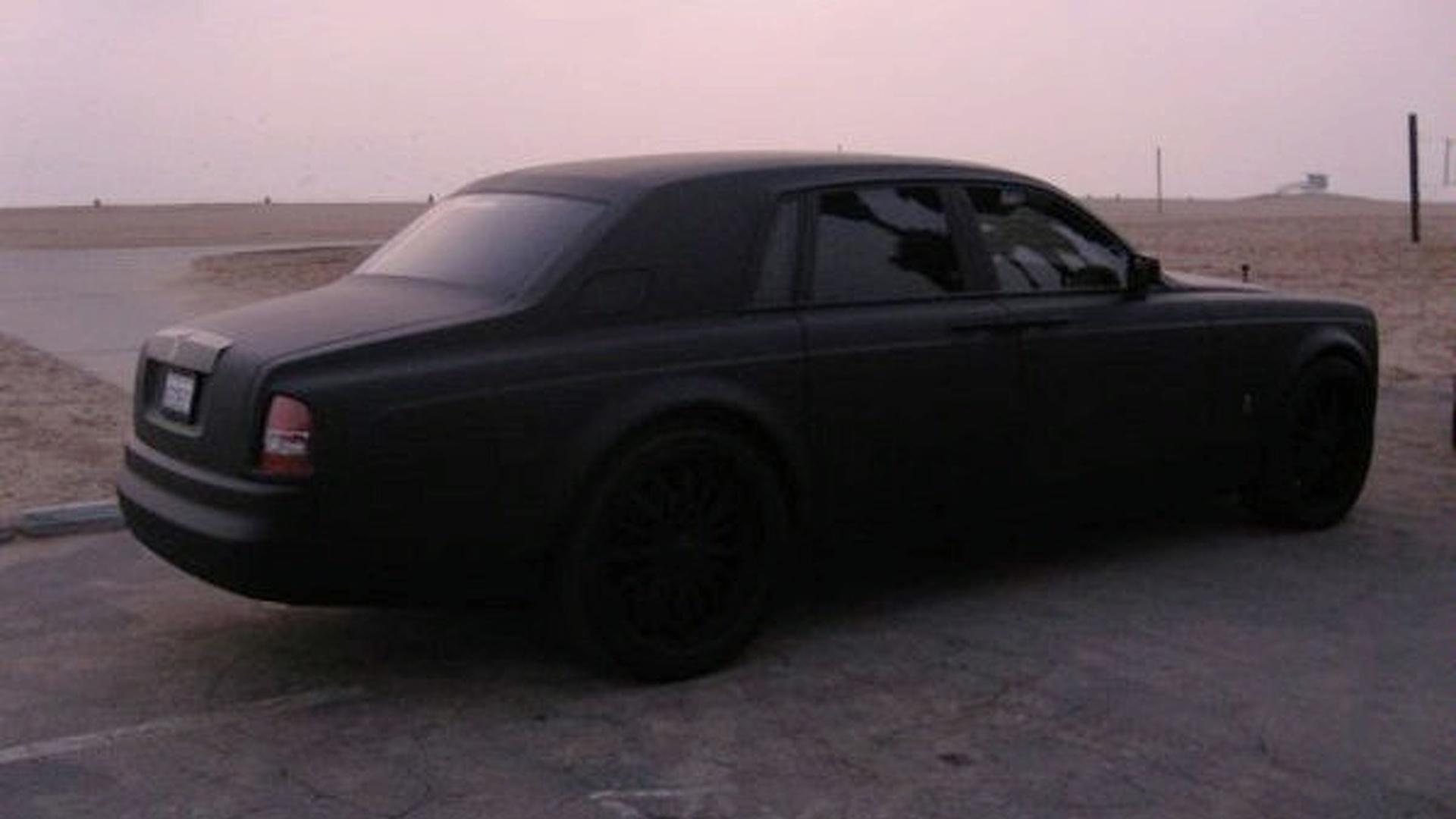 Matte black Rolls Royce Phantom… #Luxury #RR #Phantom # ... |Matte Black Rolls Royce Phantom 2014