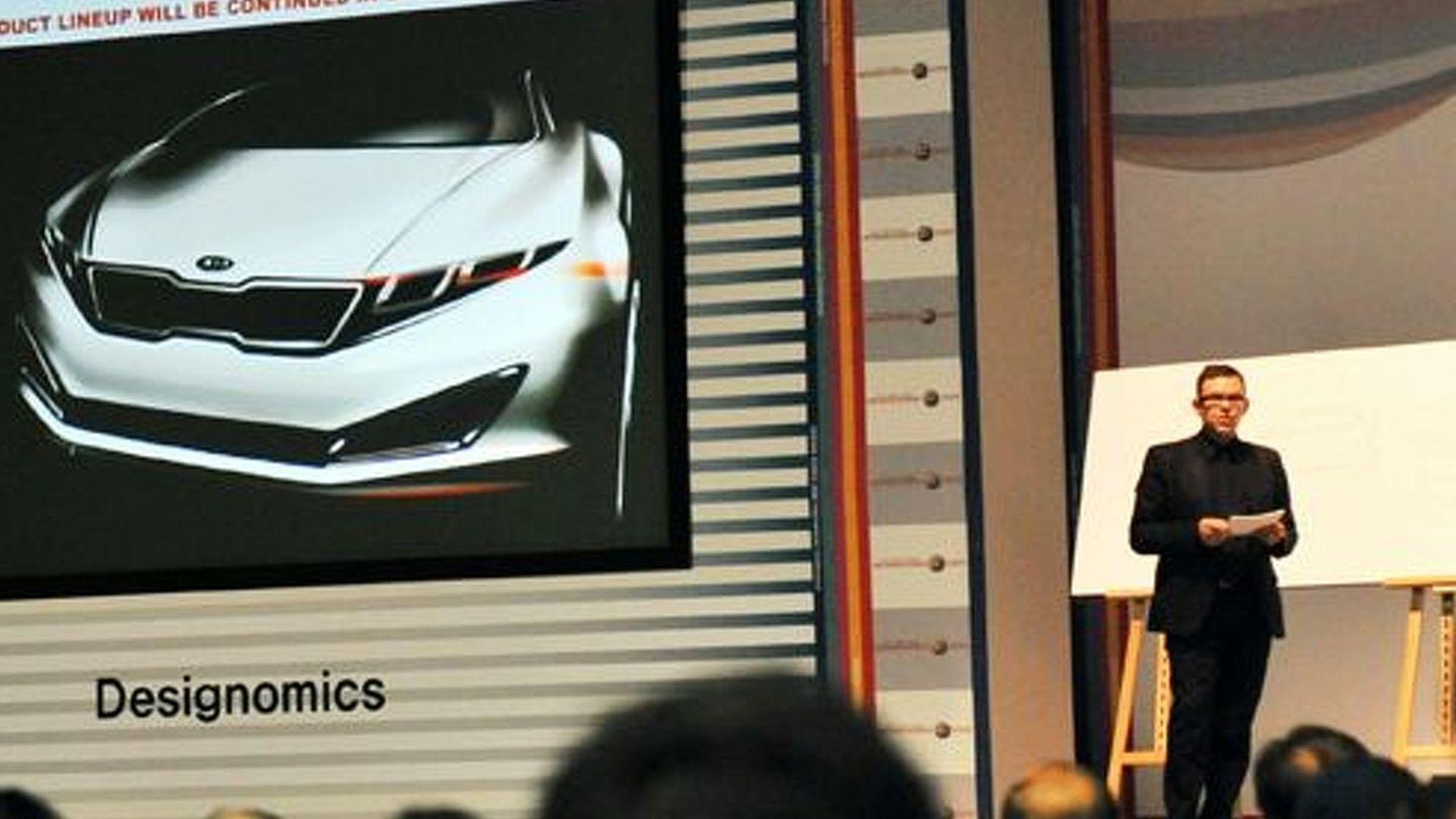 Kia S K9 Luxury Sedan Teaser Sketch Revealed