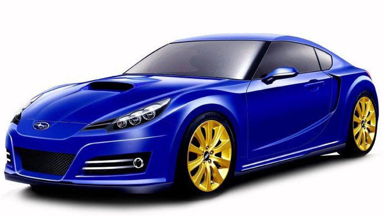 Subaru Coupe 216A artist rendering, 750, 09.08.2010