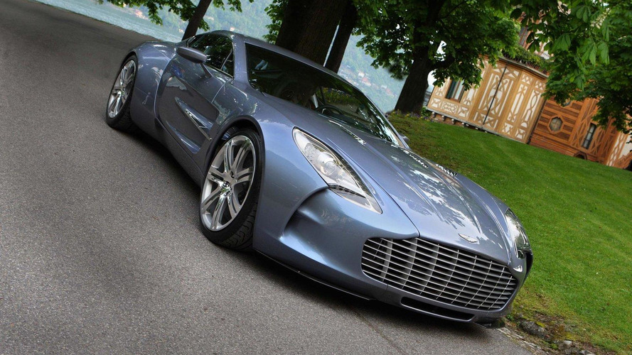 Aston Martin One-77 down to last unsold unit