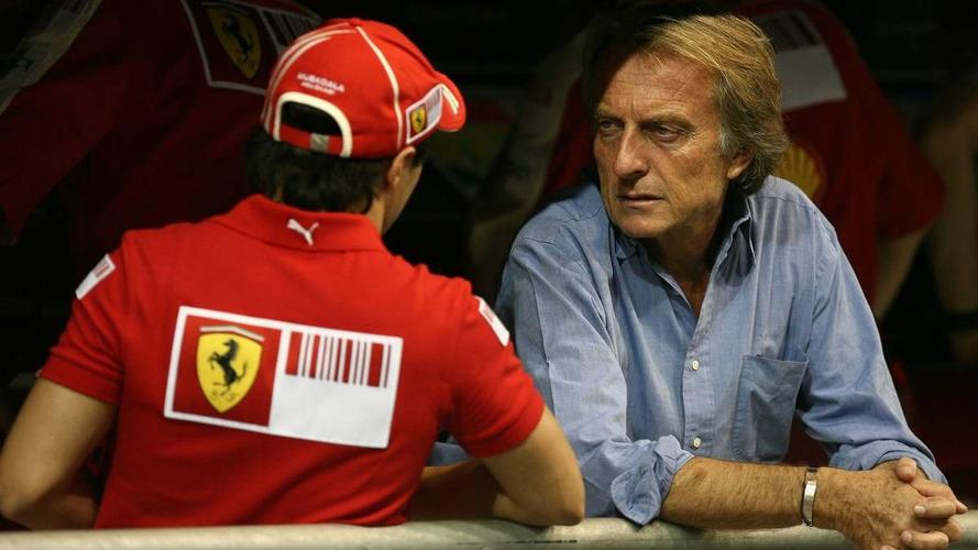 Felipe Massa (BRA), Scuderia Ferrari and Luca di Montezemolo (ITA), FIAT Chairman and President of Ferrari, Abu Dhabi Grand Prix, 30.10.2009 Abu Dhabi, United Arab Emirates