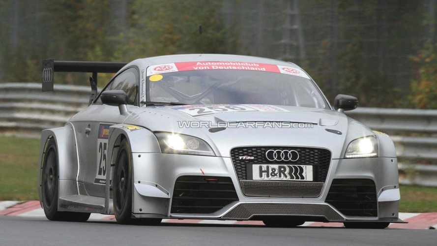 Audi TT RS race version makes its debut on the track