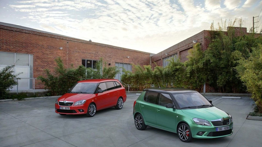 Skoda Fabia vRS launches in UK