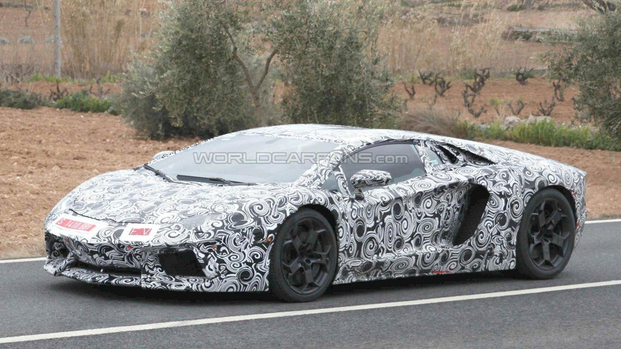Lamborghini Aventador LP700-4 spied showing more details