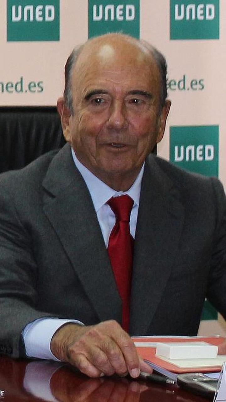 Emilio Botin / Wikipedia